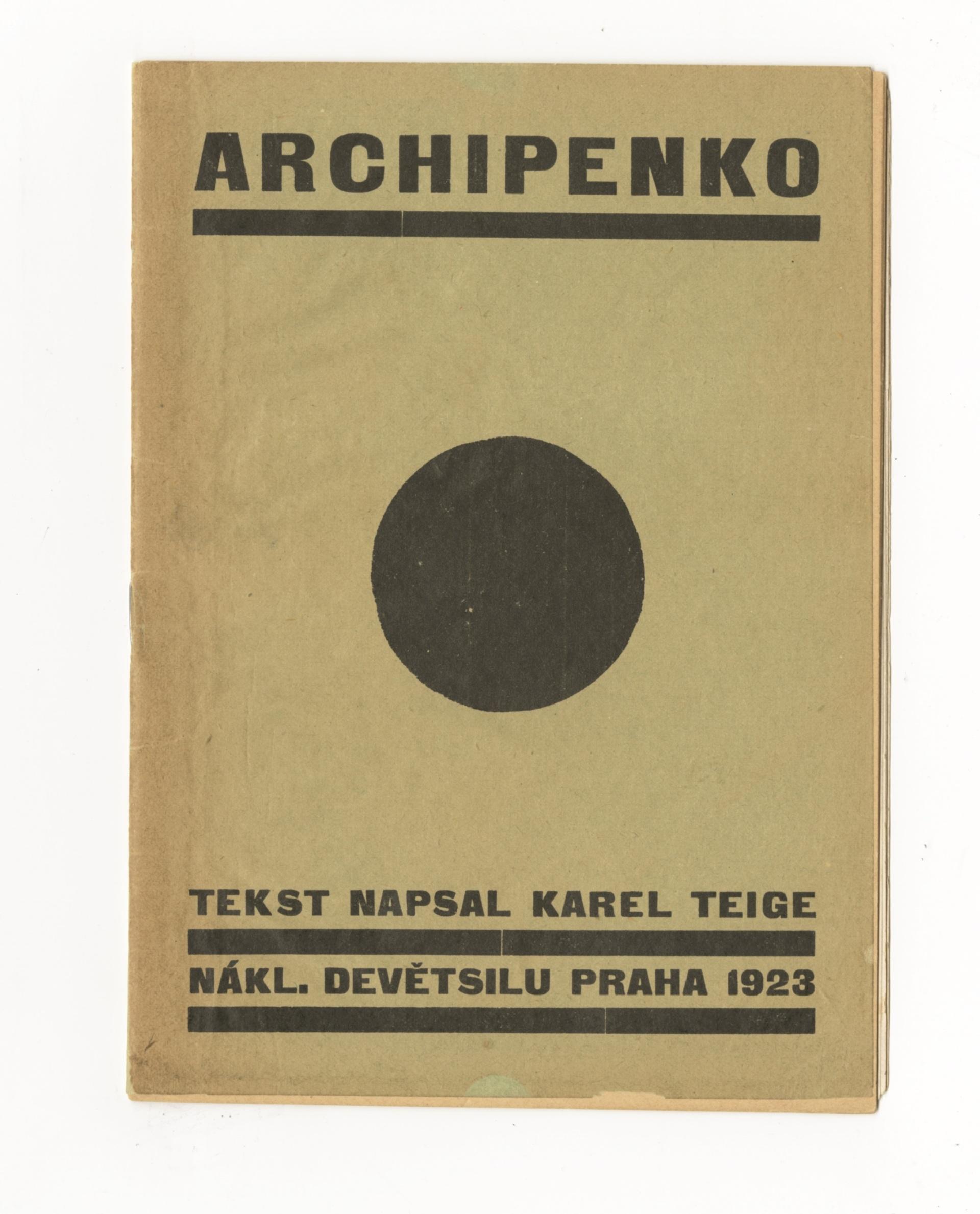 2.7 Karel Teige, Archipenko.jpg