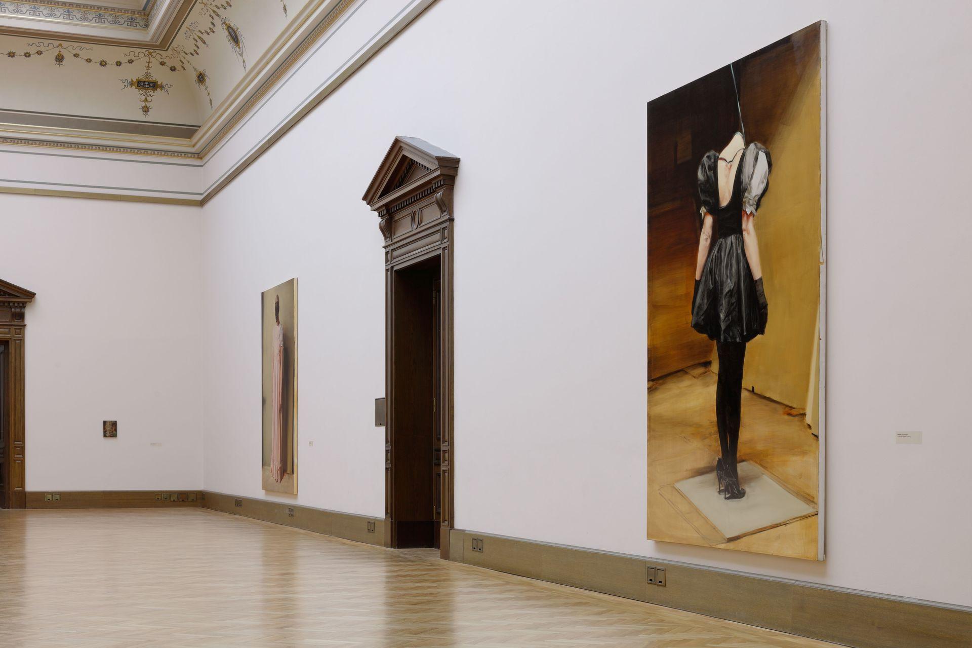 Michaël Borremans The Duck, pohled do výstavy (c) Galerie Rudolfinum. Foto Martin Polák (8).jpg