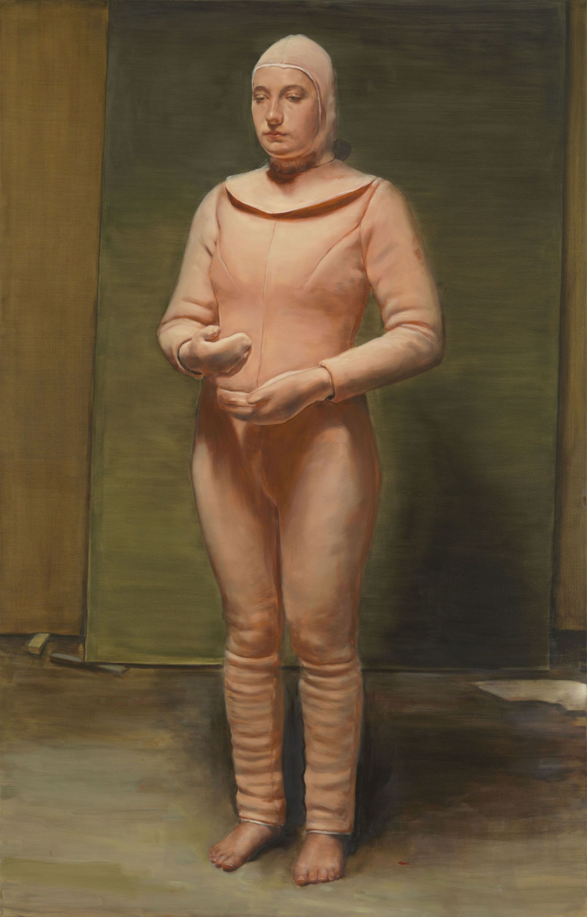 Michaël Borremans, The Bird, 2019, oil on canvas, 300 x 190 cm, Courtesy Zeno X Gallery, Antwerp� photo Lieven Herreman.jpg