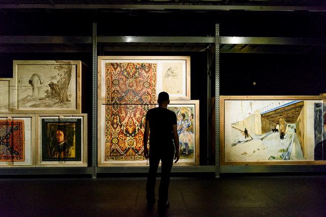Walid Raad, Kicking the Dead andor Les Louvres, 2018 © Elina Giounanli  Walid Raad.jpg