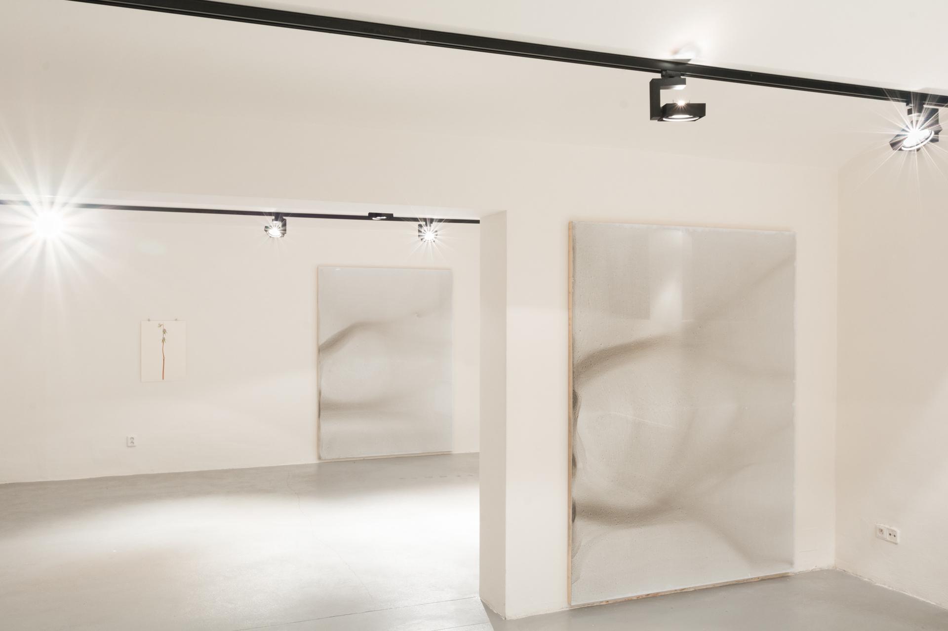 Encre de Chine, Industrial Gallery Ostrava, 2017, Hlinikový Dibond + tuš.jpg