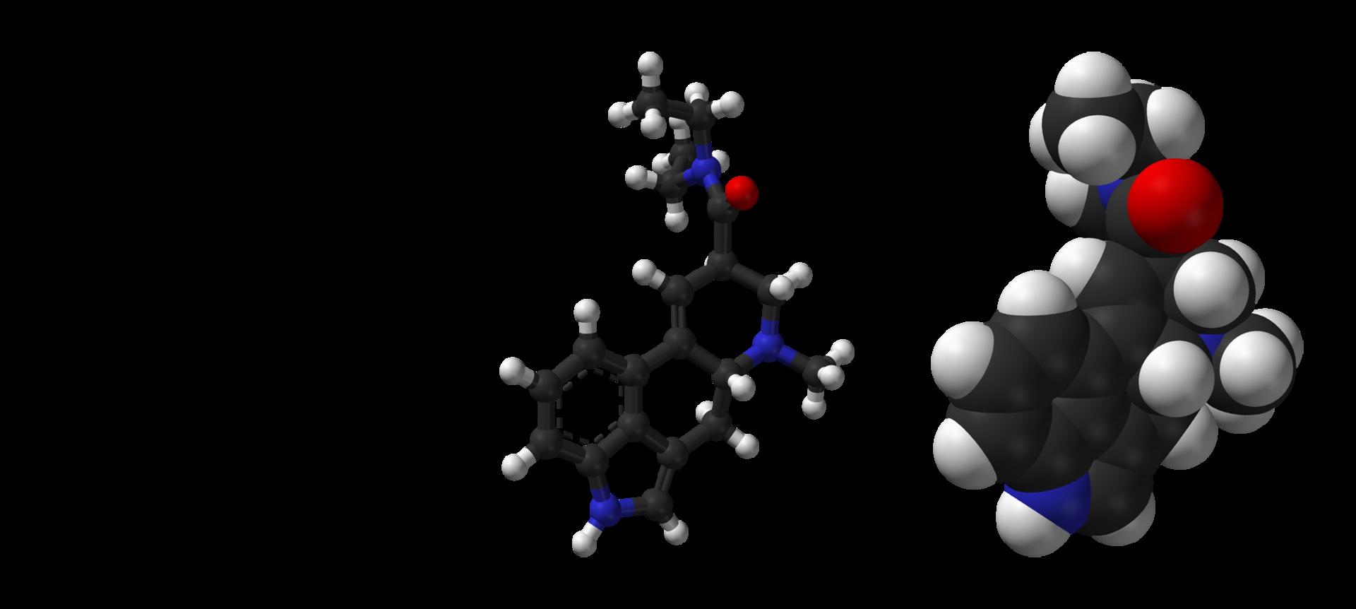 LSD-2D-skeletal-formula-and-3D-models.png