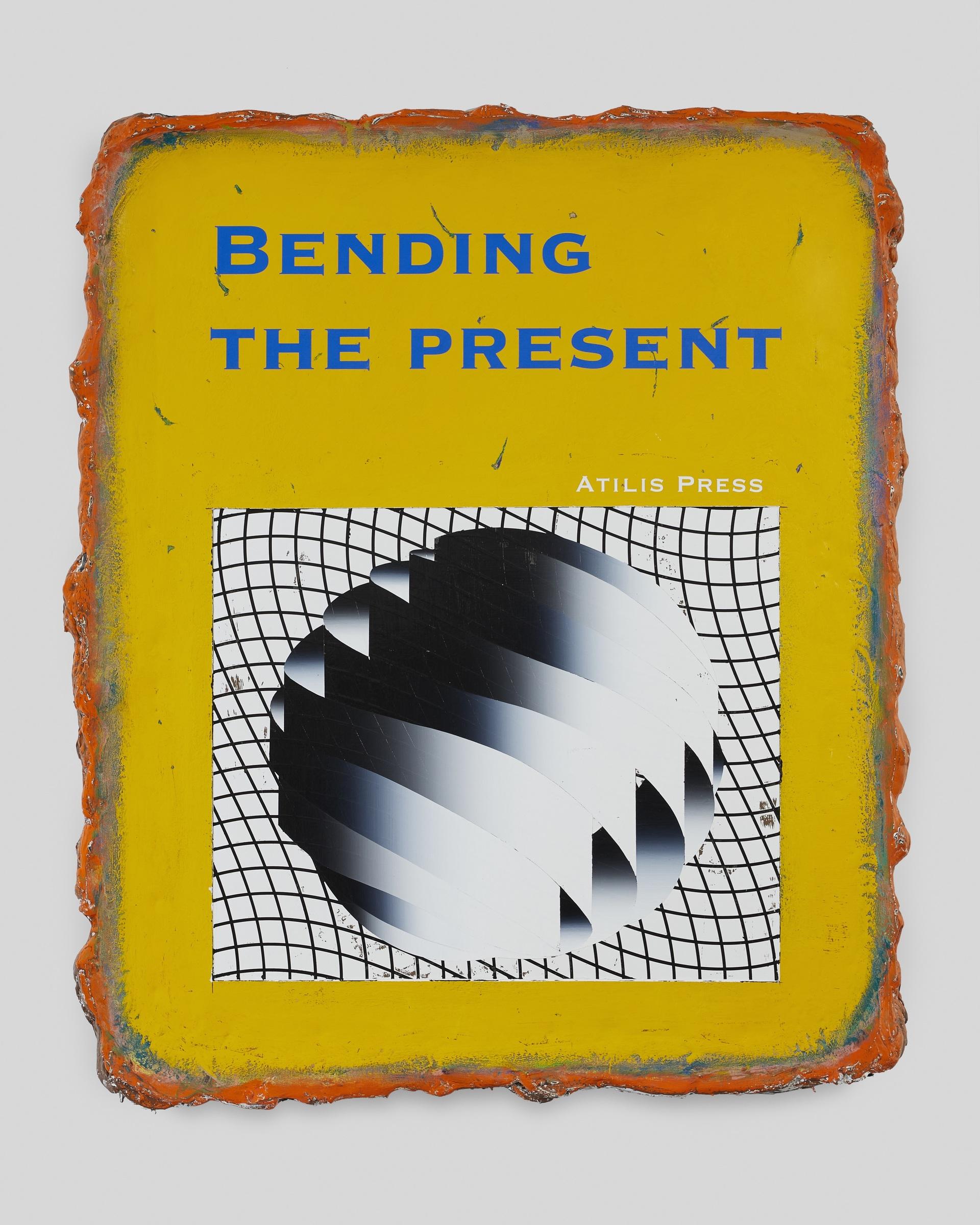 Bending the Present (AP), 2020, acrylic on canvas, 100x80cm, Courtesy Polansky Gallery.jpg