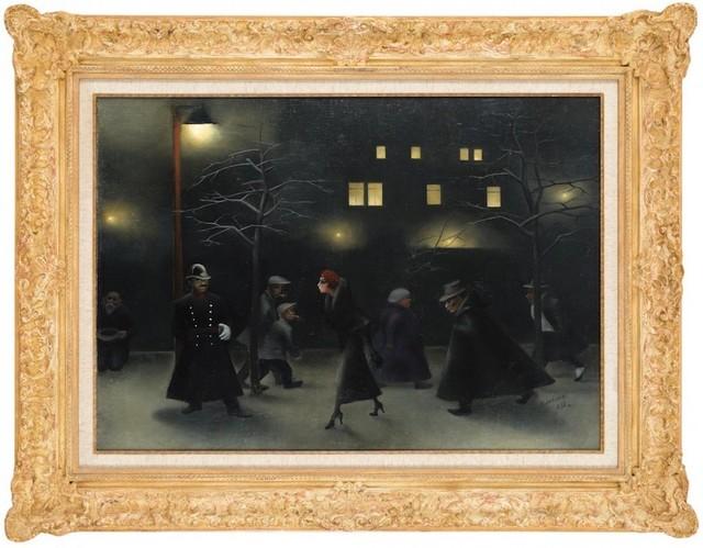 Milada Marešová: Noc, 1932