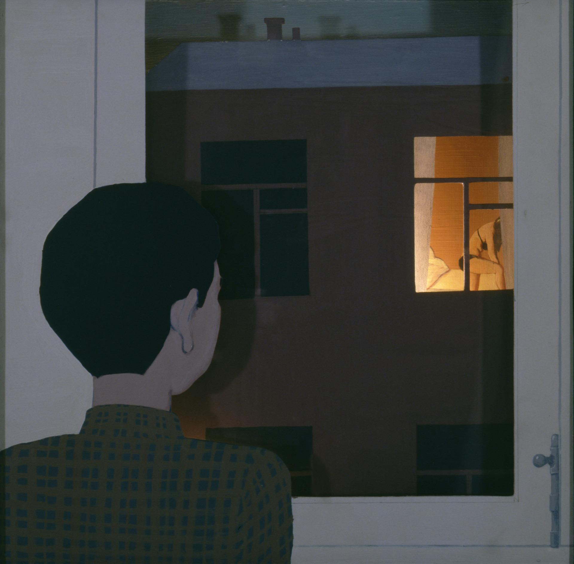 Viktor Pivovarov, Okno chlapce, 1995, v majetku autora.jpg