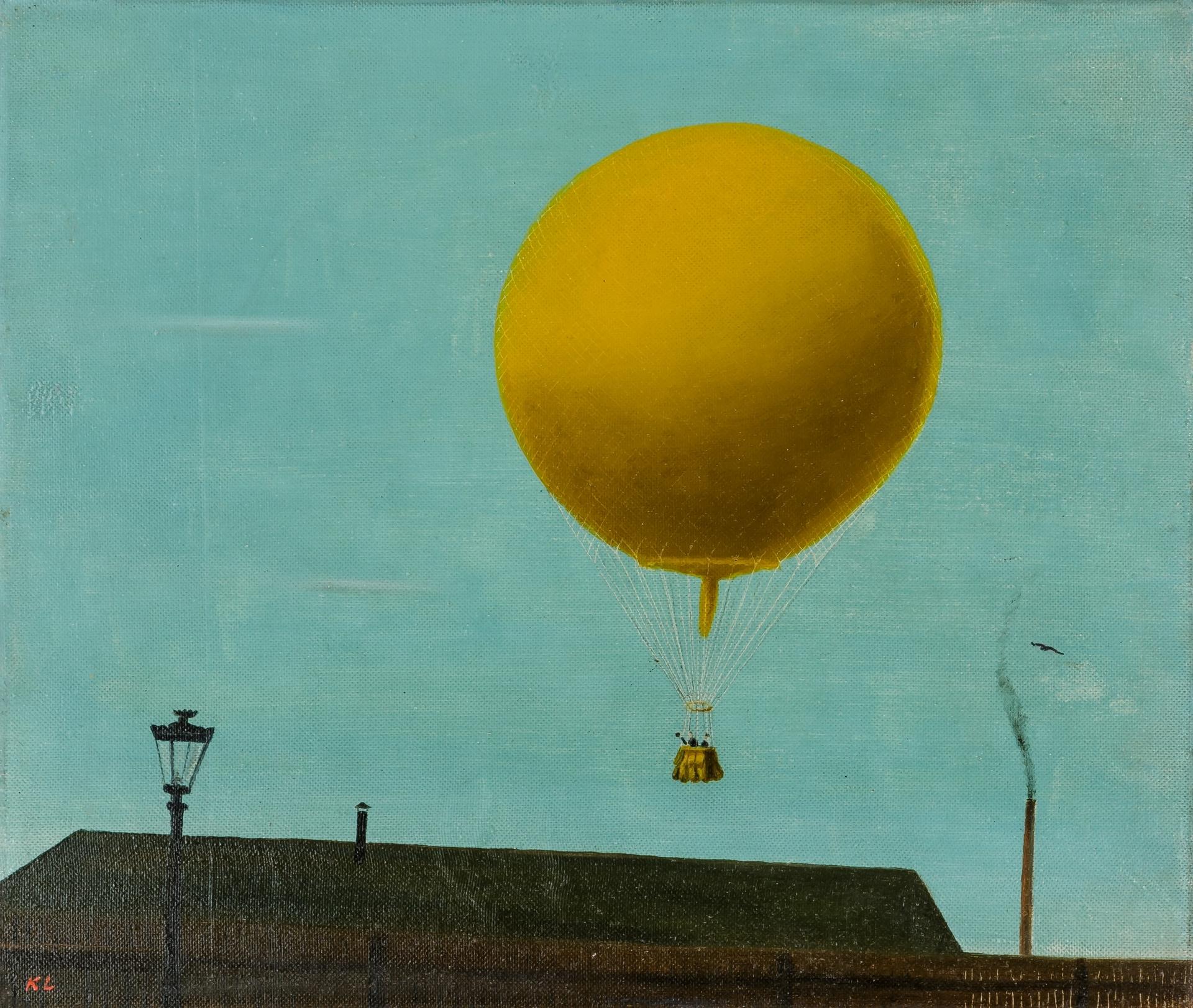 """Kamil Lhoták, Balon """"Ressel"""", 1941, Galerie výtvarného umění v Chebu.jpg"""