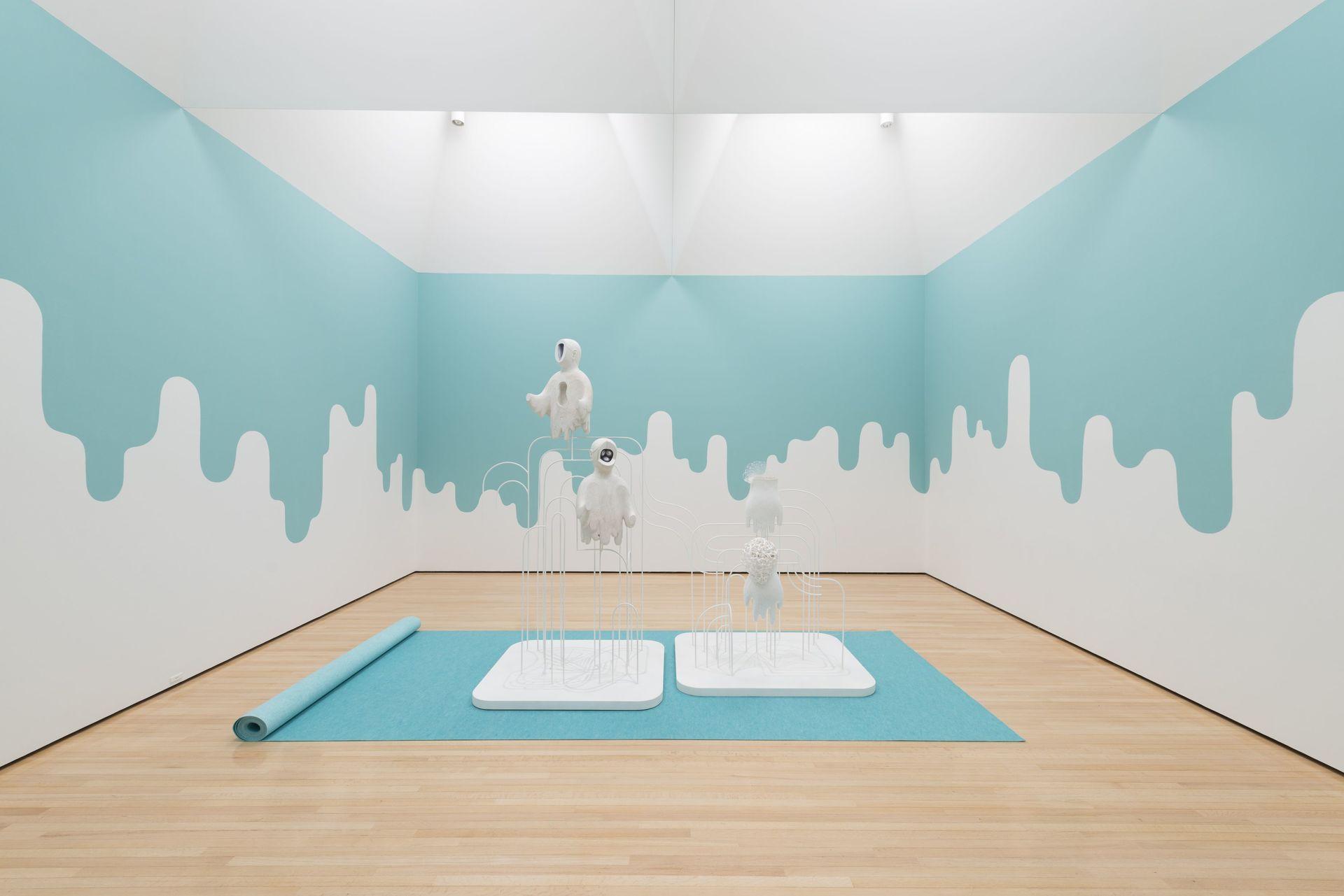 Ascension Mark 1, 2017, sochařská instalace na Aichi Triennale 2019, Toyota Museum, Japonsko foto_archiv autorkyB.jpg